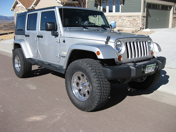 Jeep Wrangler 4 Door Lifted. W0AKO - 2007 Jeep Wrangler